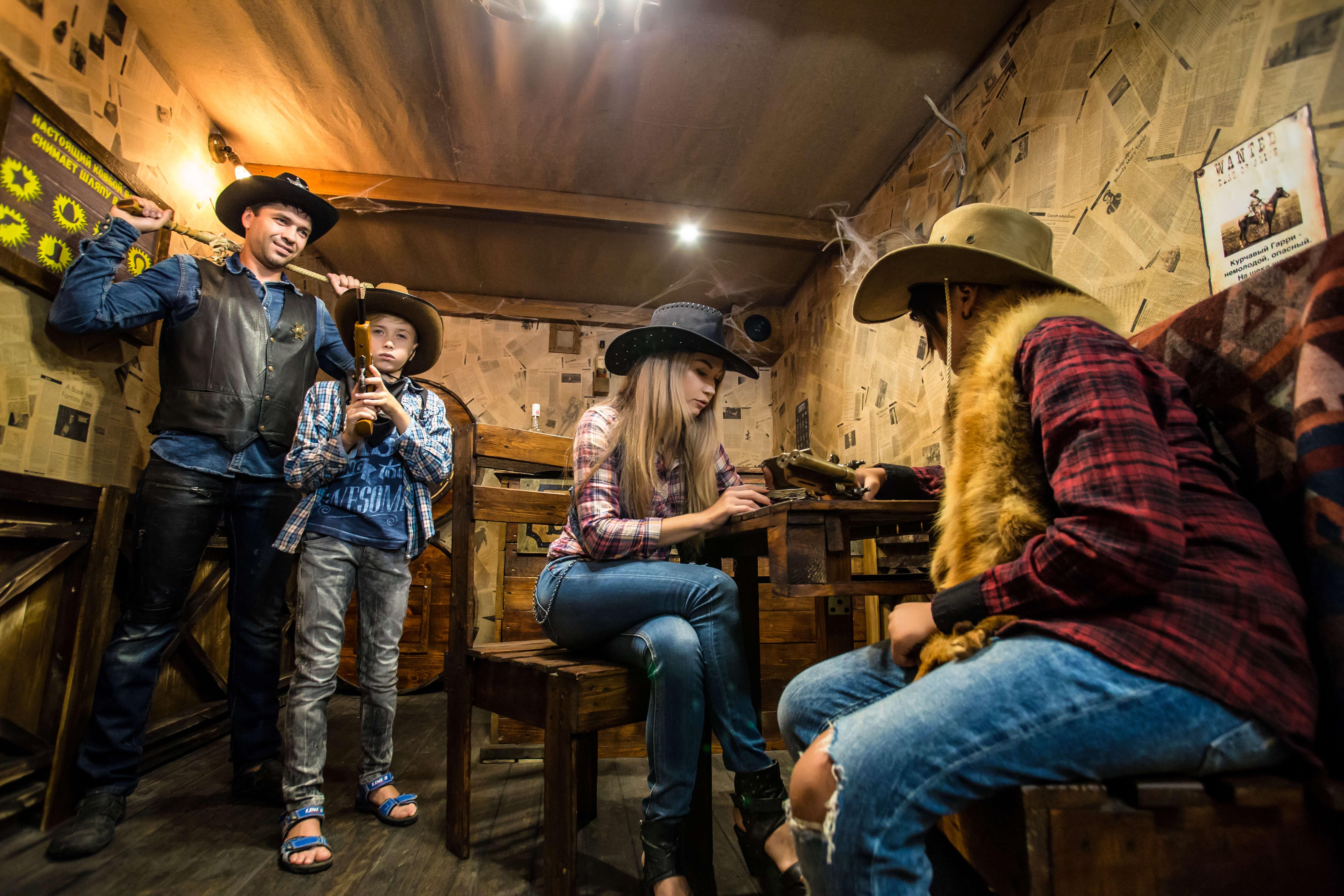 3 Фото квест комнаты Wild Wild Q`West Проклятие ковбоя Джонни в городе Николаев
