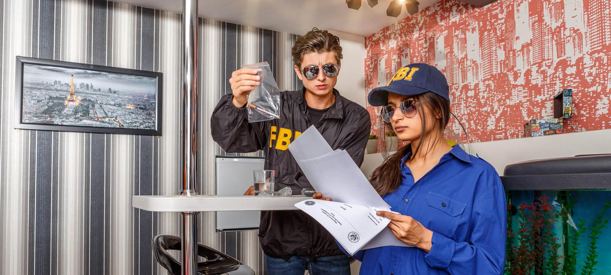 2 Фото квест комнаты ФБР 2.0: академия убийства в городе Киев
