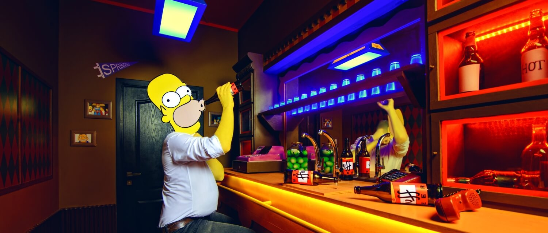 2 Фото квест комнаты Симпсоны в городе Львов