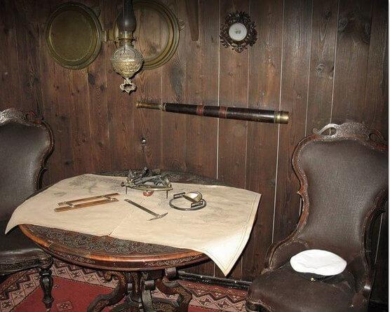1 Фото квест кімнати Каюта Капітана в місті Дніпро