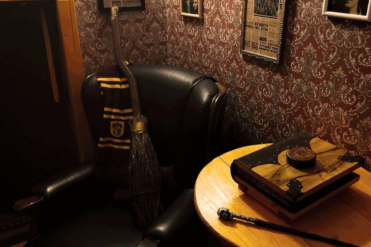 Фото квест комнаты Гарри Поттер: Путешествие в Неверленд в городе Киев