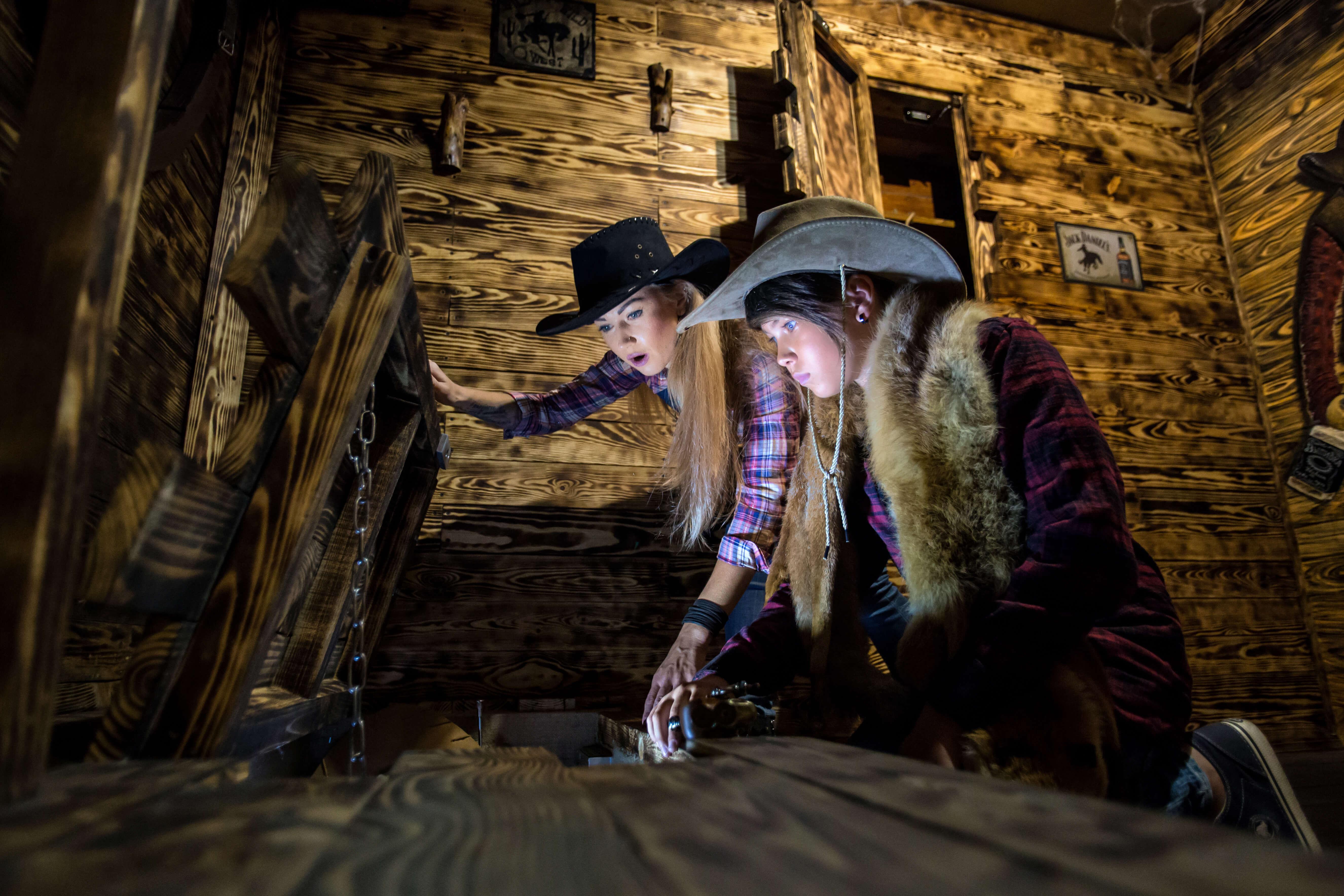 1 Фото квест комнаты Wild Wild Q`West Проклятие ковбоя Джонни в городе Николаев