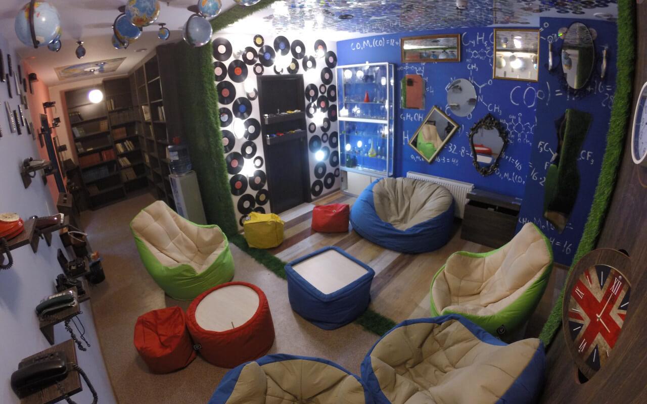 Фото квест комнаты Лаунж Комната для отдыха в городе Киев
