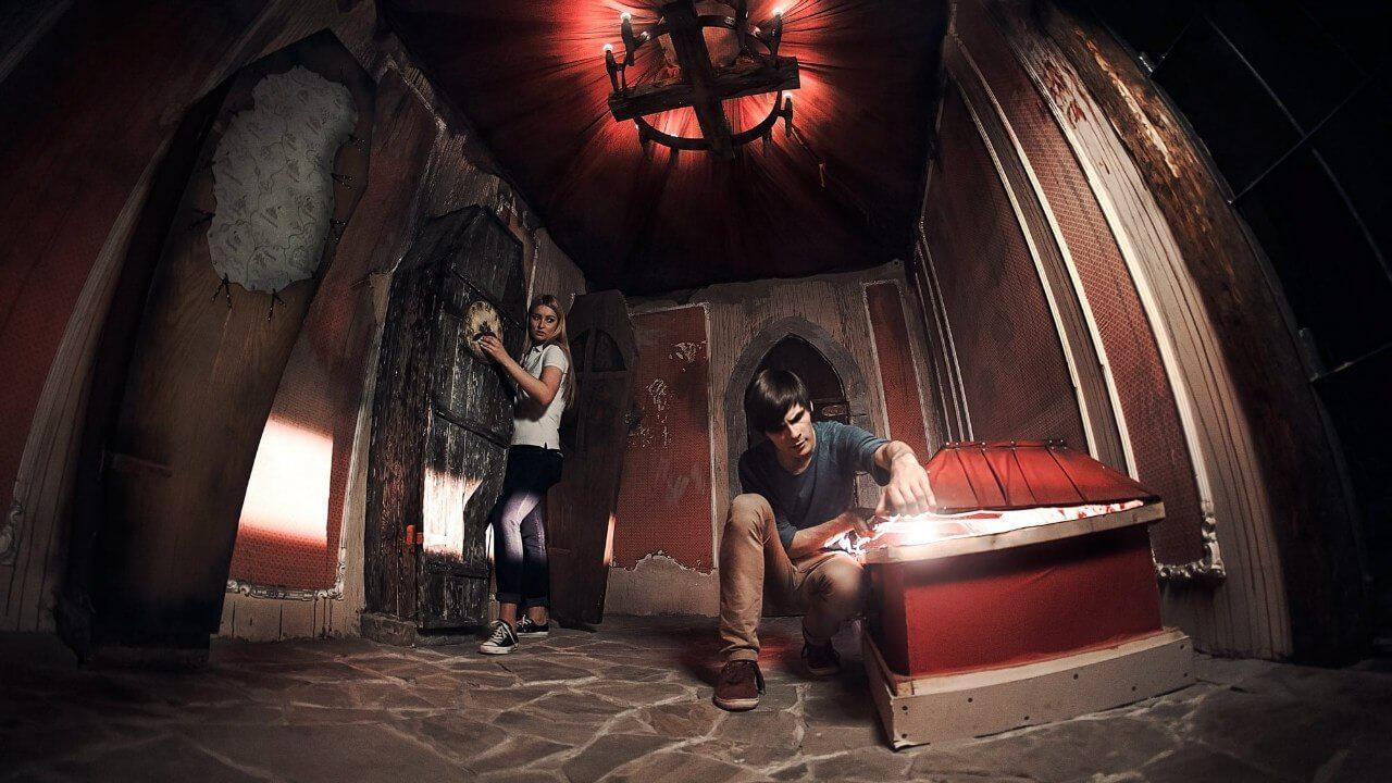1 Фото квест кімнати лігво Вампіра в місті Дніпро