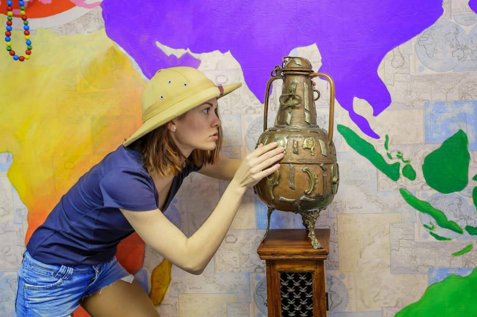 1 Фото квест комнаты Вокруг Света в городе Киев