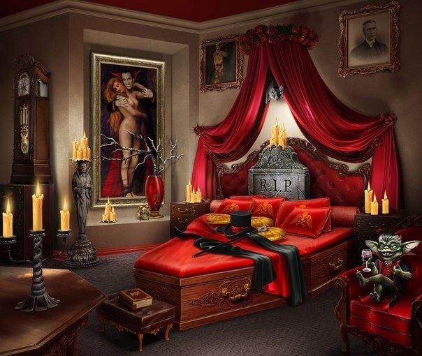 2 Фото квест кімнати лігво Вампіра в місті Дніпро