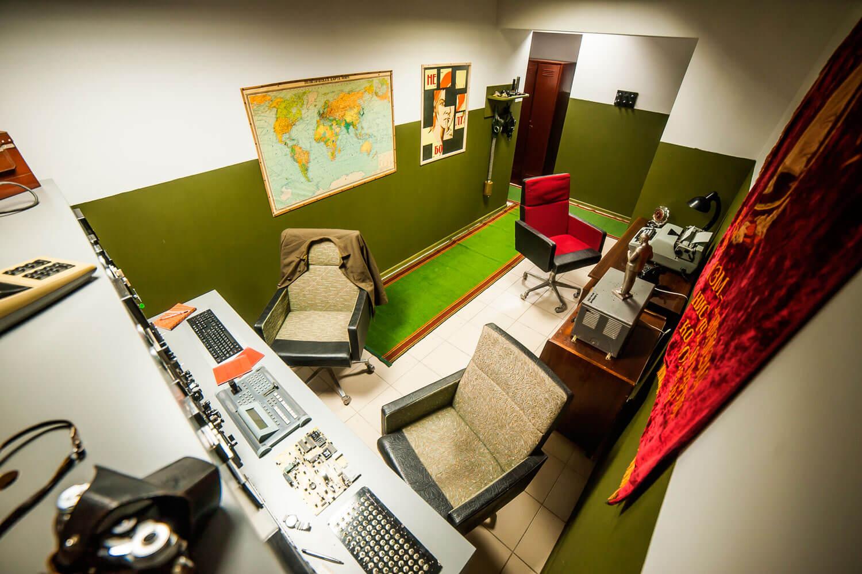 2 Фото квест кімнати Ядерна загроза в місті Київ