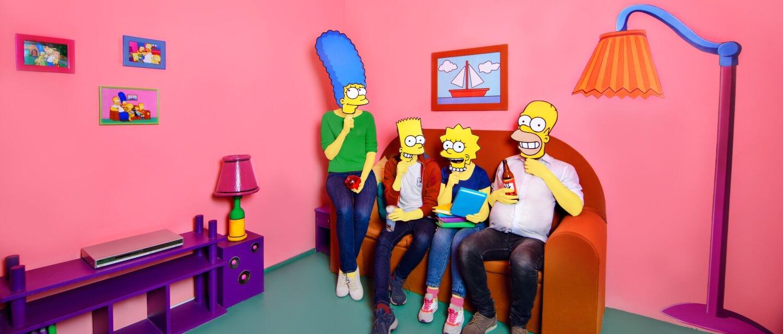 3 Фото квест комнаты Симпсоны в городе Львов