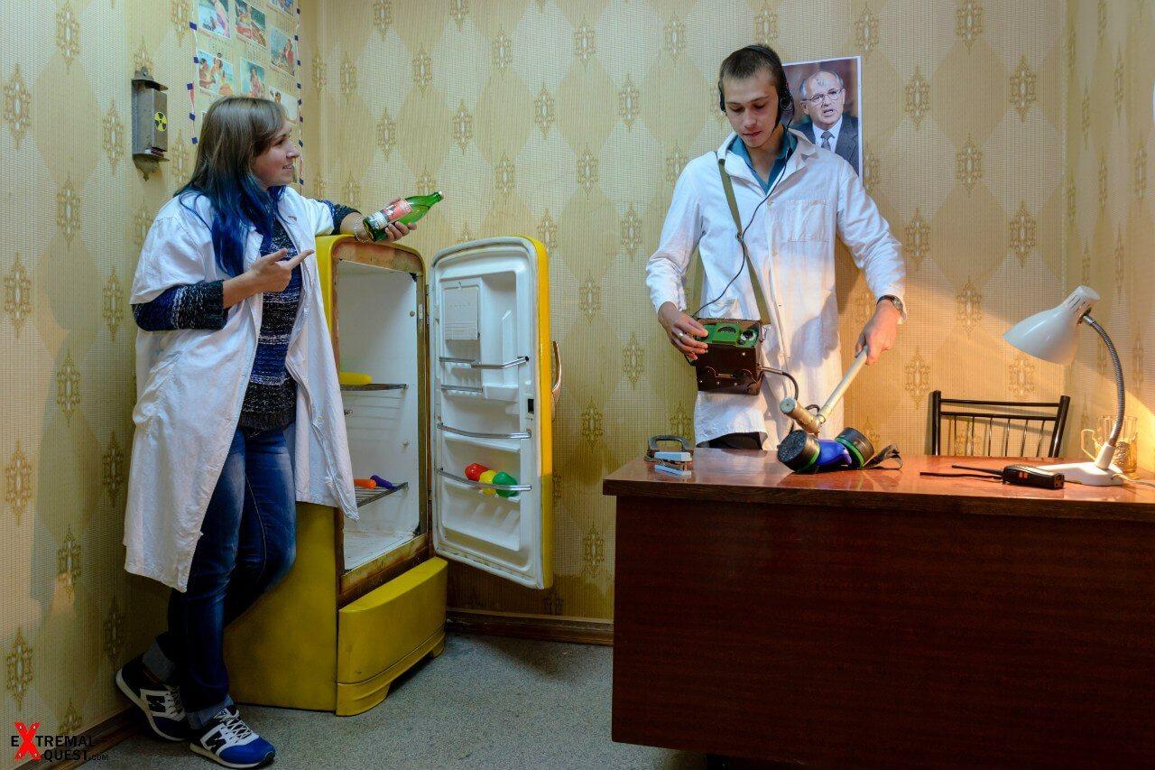 2 Фото квест кімнати Тайна Припяті в місті Харків