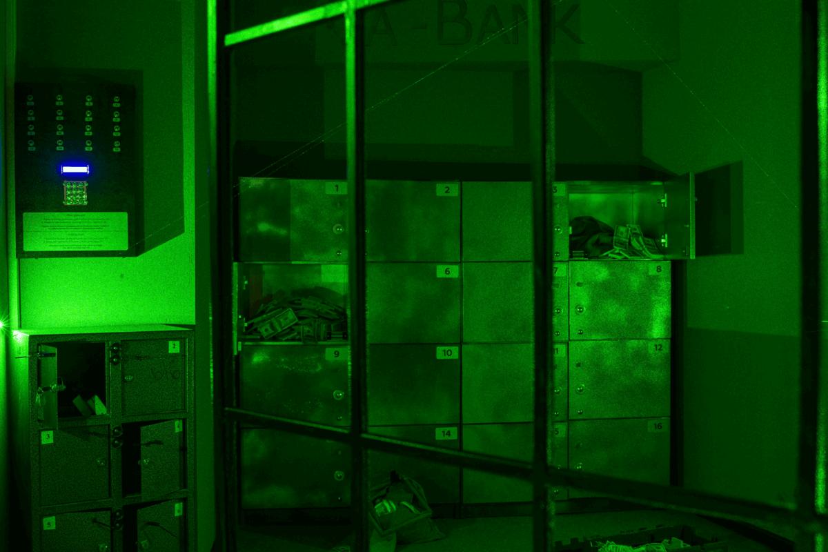 Фото квест комнаты Ва-Банк: ограбление на Майдане в городе Киев