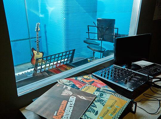 Картинка квест комнаты Студия Звукозаписи в городе Кривой Рог