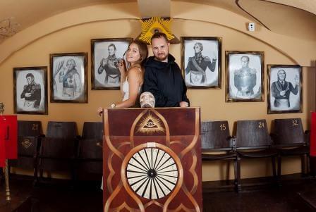 Картинка квест комнаты Масонский заговор в городе Одесса