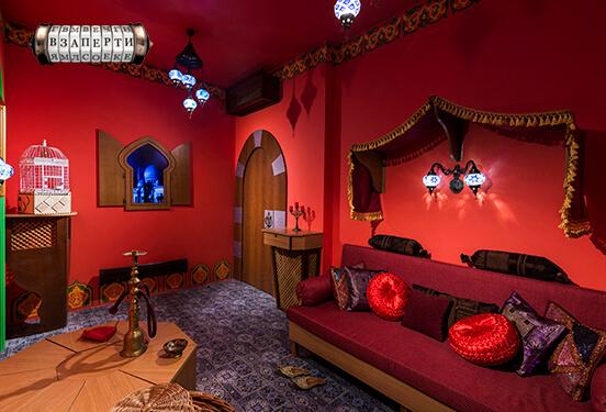Картинка квест комнаты 1001 ночь в городе Киев