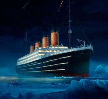 Картинка квест кімнати Таємниця загибелі Титаніка в городе Харків