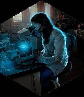 Картинка квест кімнати Таємна лабораторія в городе Кривий  Ріг