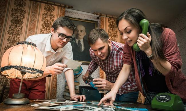 Картинка квест комнаты Дорога домой в городе Харьков
