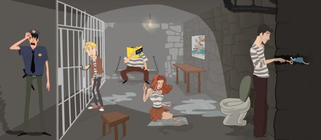 Картинка квест комнаты Побег из тюрьмы в городе Черкассы
