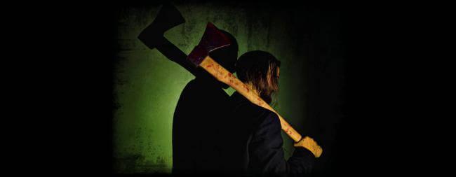 Картинка квест комнаты The Axeman. Дровосек в городе Киев