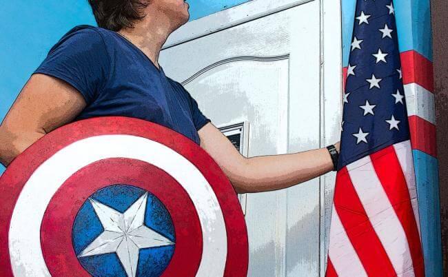 Картинка квест кімнати Капітан Америка в городе Харків