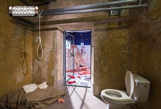 Картинка квест кімнати Se7en в городе Київ