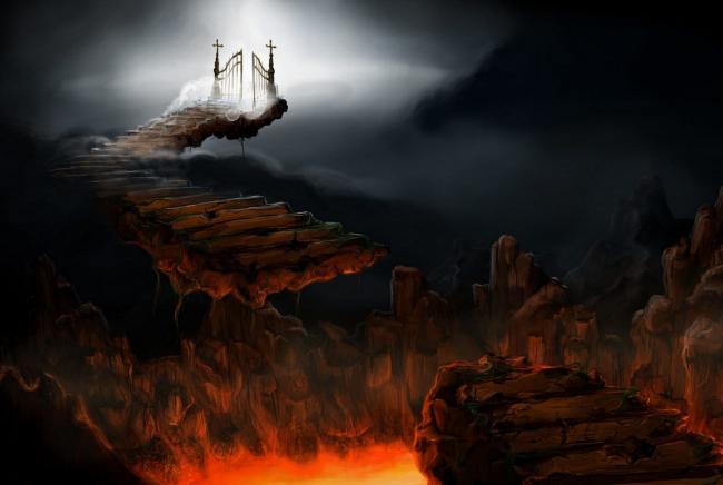 Картинка квест кімнати Пекло та рай в городе Одеса