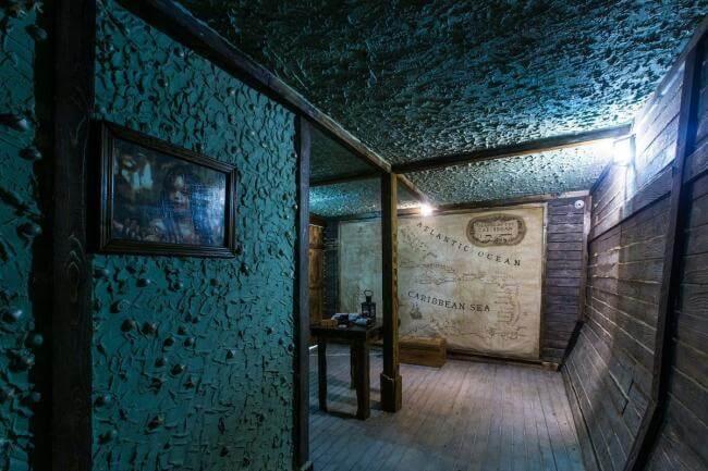 Картинка квест комнаты ПИРАТЫ КАРИБСКОГО МОРЯ: СУНДУК МЕРТВЕЦА  в городе Львов