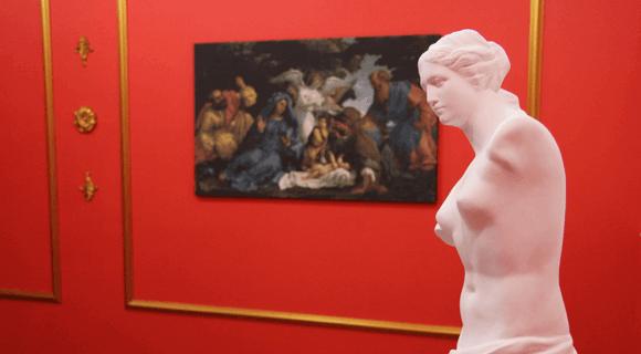 Картинка квест комнаты Ограбление музея в городе Харьков