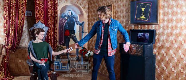 Картинка квест комнаты Алиса в стране чудес (Одесса) в городе Одесса