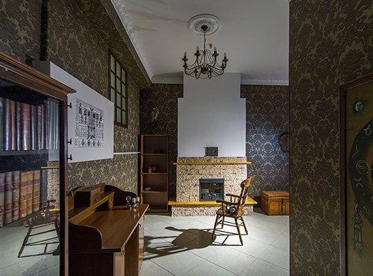 Картинка квест кімнати Алхімік в городе Харків