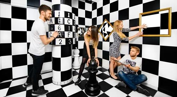 Картинка квест кімнати Black & White в городе Львів