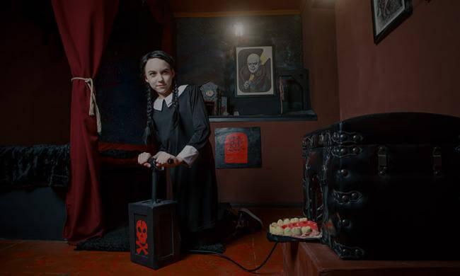 Картинка квест кімнати В гостях у сімейки Адамс в городе Київ