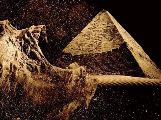Картинка квест кімнати Піраміда. Посвячення фараона в городе Одеса