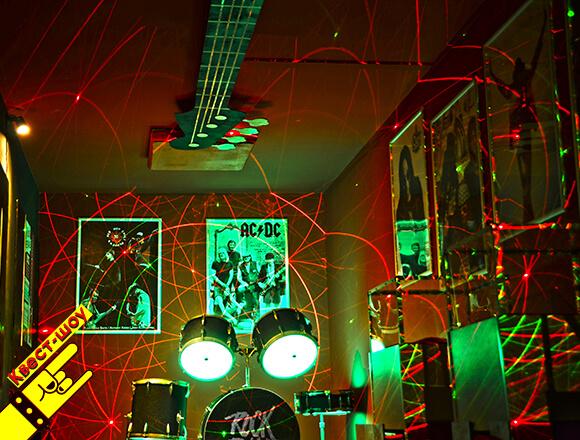 Картинка квест комнаты Зал славы Rock'n'Roll в городе Киев
