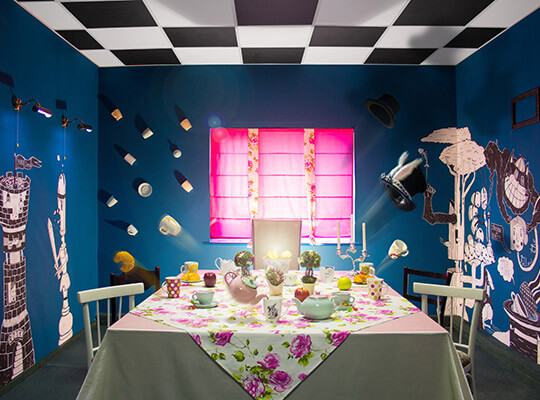 Картинка квест комнаты Следуй за Белым Кроликом в городе Днепр