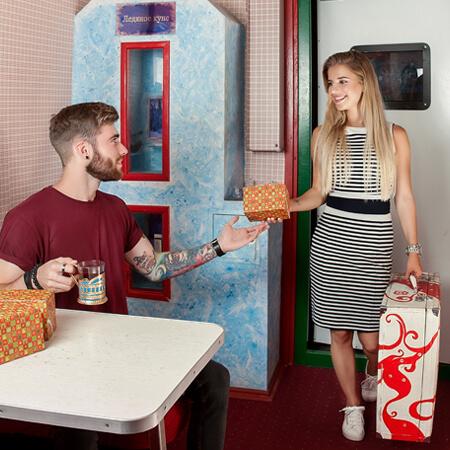 Картинка квест комнаты Поезд Счастья в городе Одесса