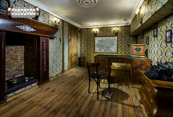 Картинка квест комнаты Викторианский детектив в городе Киев