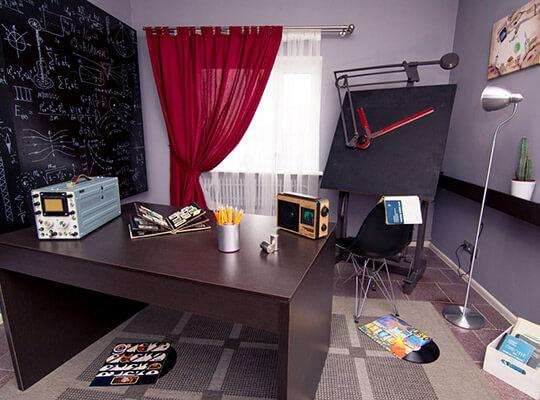 Картинка квест комнаты Кабинет конструктора в городе Днепр