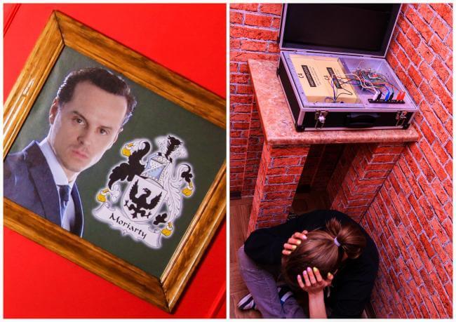 Картинка квест комнаты Загадка Мориарти  в городе Львов
