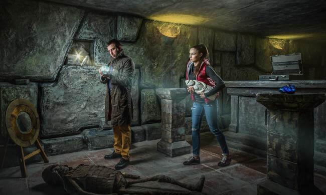 Картинка квест комнаты Индиана Джонс: Золото скифов в городе Киев