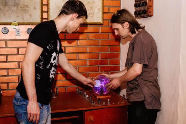 Картинка квест кімнати Тесла в городе Львів
