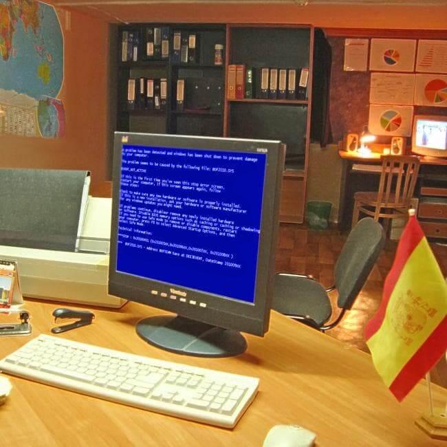 Картинка квест комнаты Бесконечный офис в городе Днепр