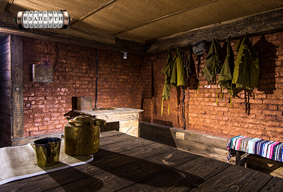 Картинка квест комнаты Подпольный штаб: Крыивка в городе Киев