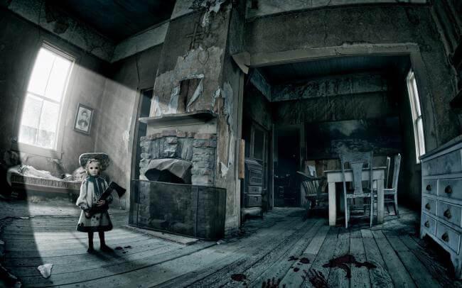 Картинка квест комнаты Проклятый дом в городе Одесса