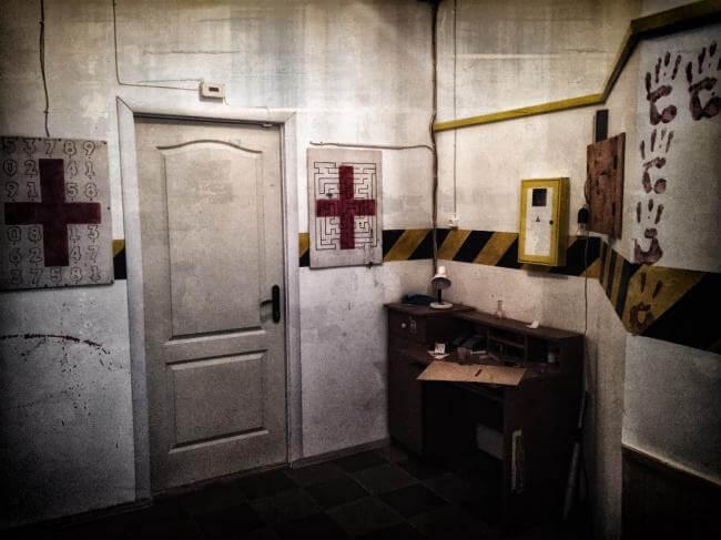 Картинка квест кімнати клініка Смерті в городе Хмельницький