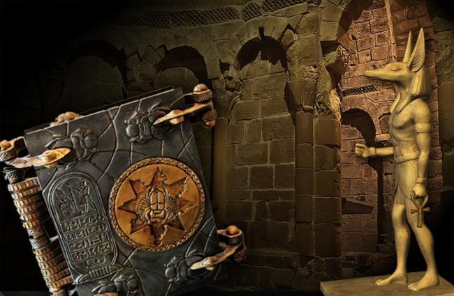 Картинка квест комнаты Книга Мёртвых в городе Одесса