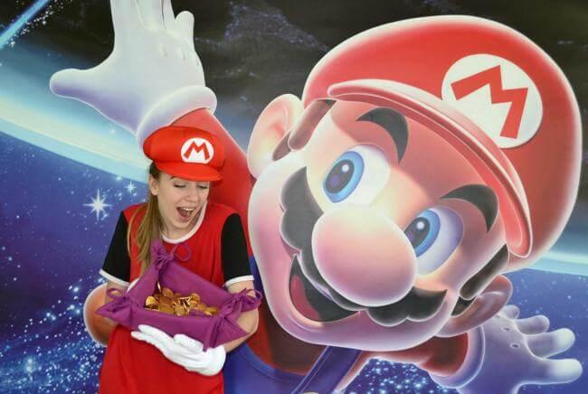 Картинка квест комнаты Загадки Марио в городе Днепр