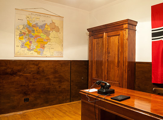 Картинка квест комнаты Ставка «Вервольф» в городе Винница