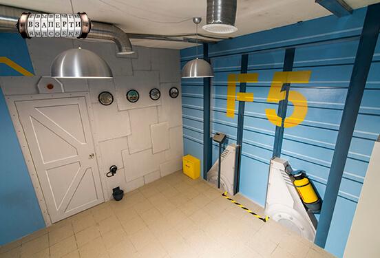Картинка квест кімнати Монстрополіс в городе Київ