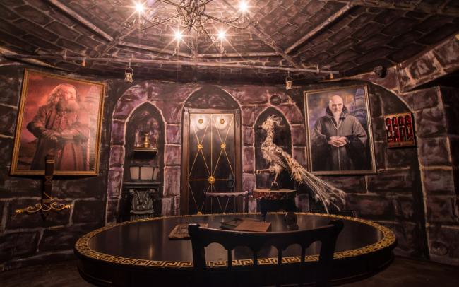 Картинка квест кімнати Гаррі Поттер в городе Київ