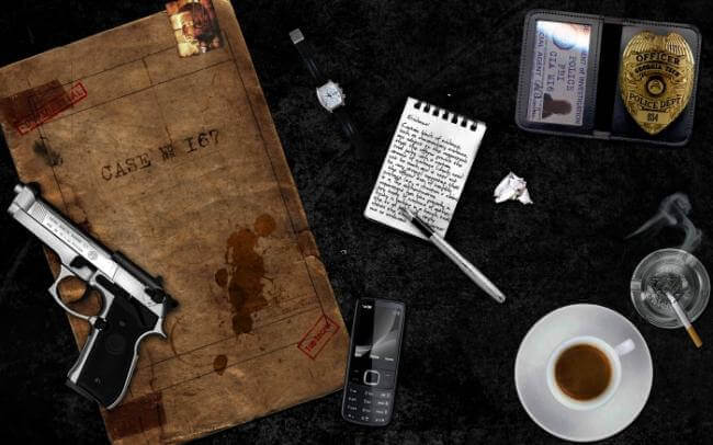 Картинка квест комнаты Офис детектива Хилла в городе Кропивницкий